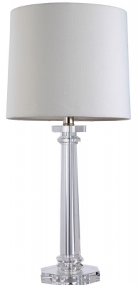 RV Astley Colinas Solid Crystal Table Lamp