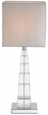 RV Astley Earlston Crystal Table Lamp