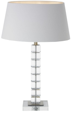 RV Astley Morna Crystal Table Lamp