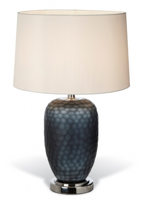 RV Astley Perth Smoked Glass Table Lamp