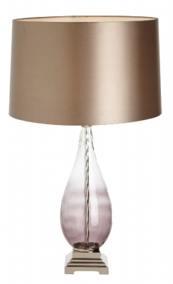 RV Astley Salou Smoke Twist Table Lamp (Base Only)