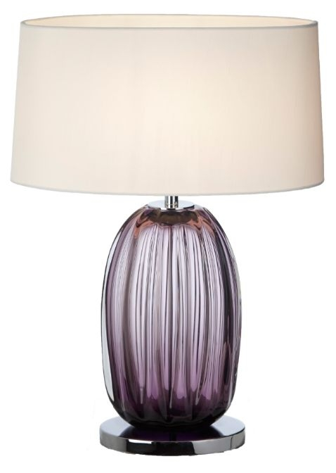 RV Astley Chelle Glass Table Lamp