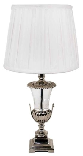 RV Astley Emie Nickel Table Lamp