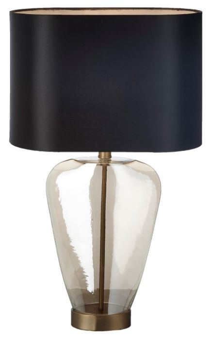 RV Astley Haven Cognac Table Lamp