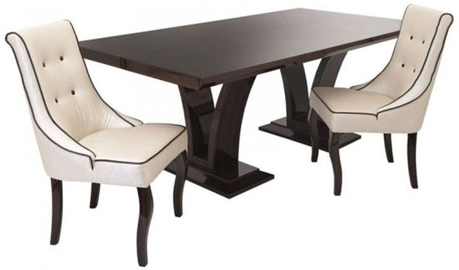 RV Astley Dubris Rectangular Dining Table - 210cm