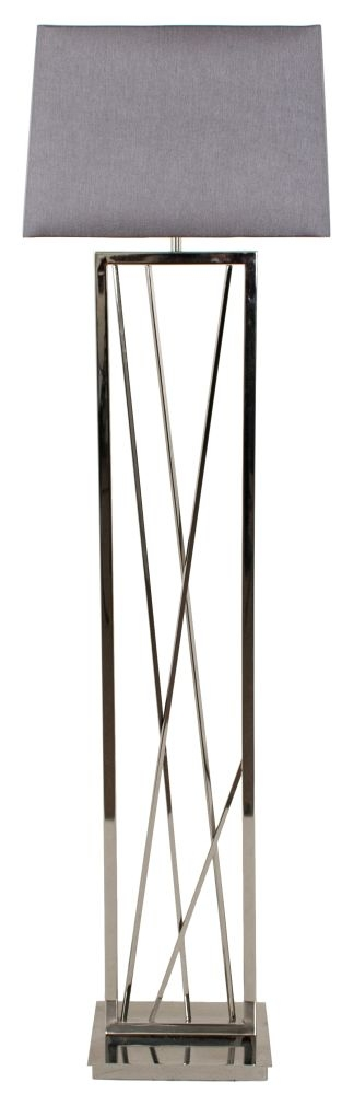 RV Astley Carinne Nickel Floor Lamp