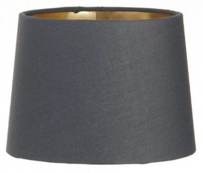 RV Astley Charcoal Shade with Gold Lining 15 Cm Clip