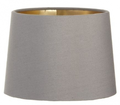 RV Astley Grey Shade with Gold Lining 15 Cm Clip