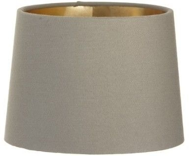 RV Astley Soft Brown Lamp Shade with Gold Lining Clip