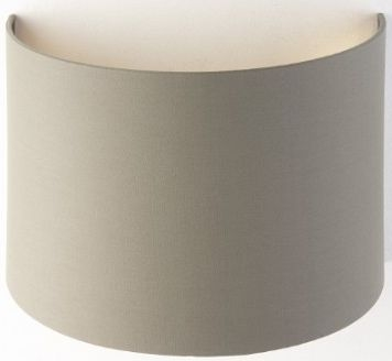 RV Astley Soft Brown Wall Lamp Shade with Gold Lining