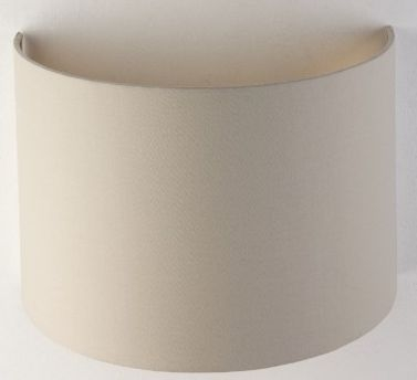 RV Astley Soft Latte Wall Lamp Shade with Gold Lining