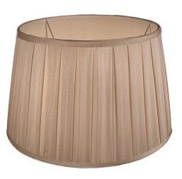 RV Astley Box Pleat Drum Shade - 48cm