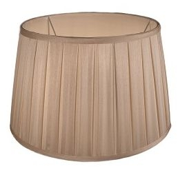 RV Astley Box Pleat Drum Shade 54cm