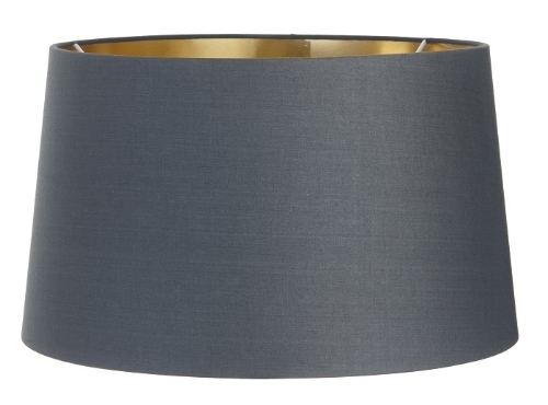 RV Astley Charcoal Shade with Gold Lining