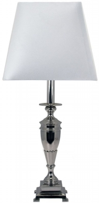 RV Astley Briella Nickel Table Lamp