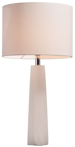 RV Astley Casey White Polished Nickel Table Lamp