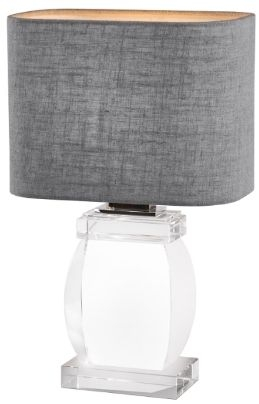 RV Astley Darrah Crystal Glass Table Lamp