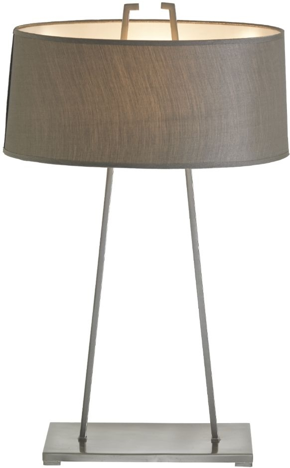RV Astley Sara Table Lamp - Brushed Nickel and Metal