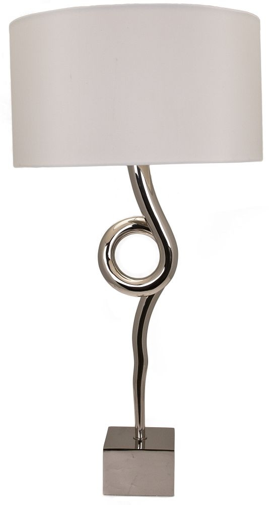 RV Astley Arielle Nickel Table Lamp