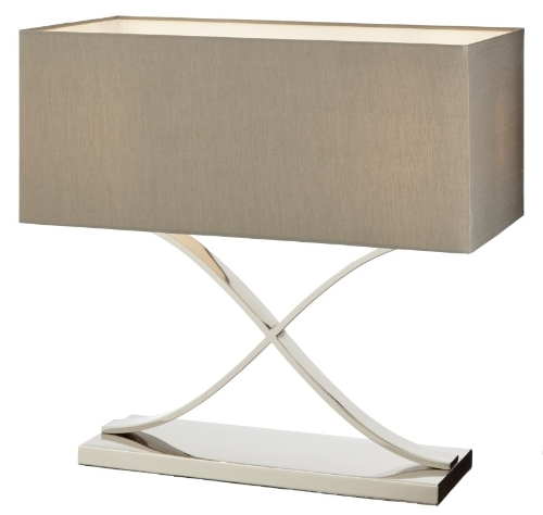RV Astley Byston Stainless Steel Table Lamp