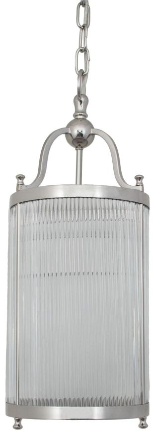 RV Astley Caldes Ceiling Light - Chrome and Nickel