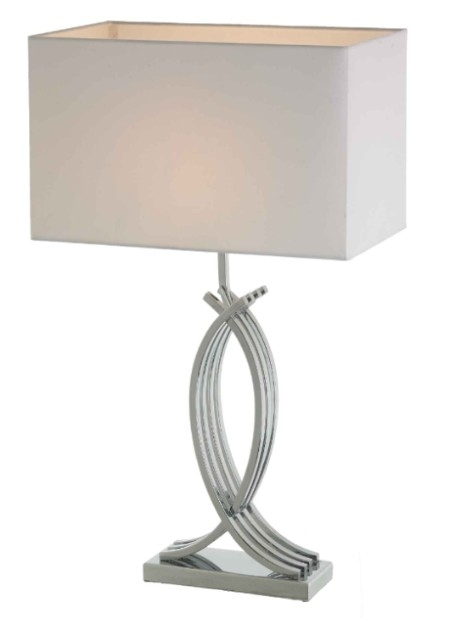 RV Astley Coco Lamp - Chrome and Nickel
