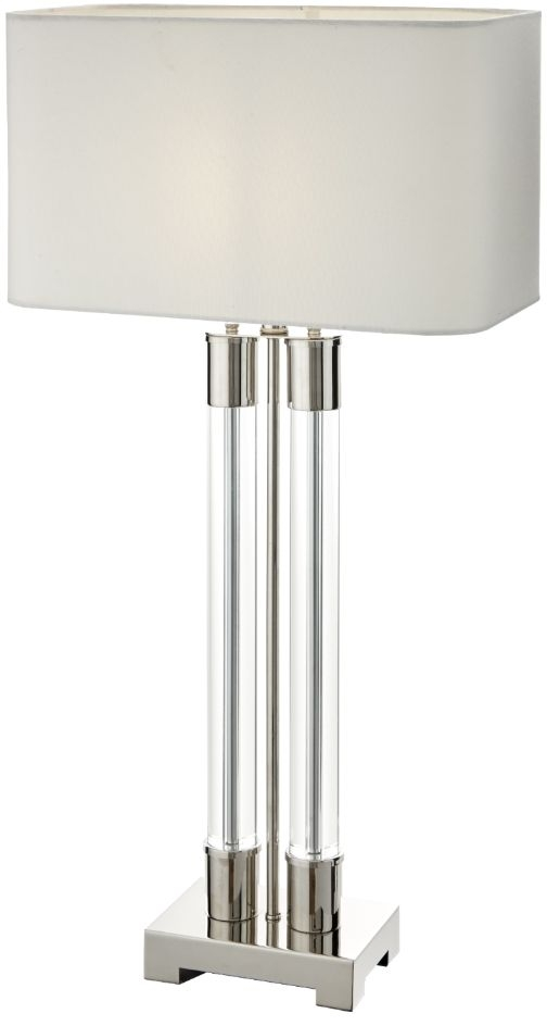 RV Astley Irpina Nickel Table Lamp