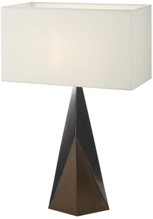 RV Astley Quinn Bronze Table Lamp