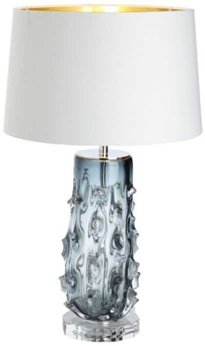 RV Astley Rico Table Lamp - Glass and Nickel