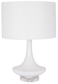 RV Astley Vita Glass Table Lamp