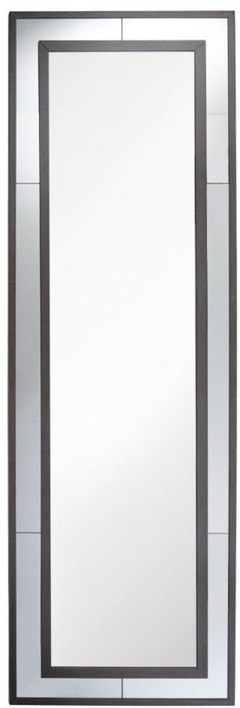 RV Astley Alliste Rectangular Mirror - Dark Brown and Smoke 65cm x 200cm