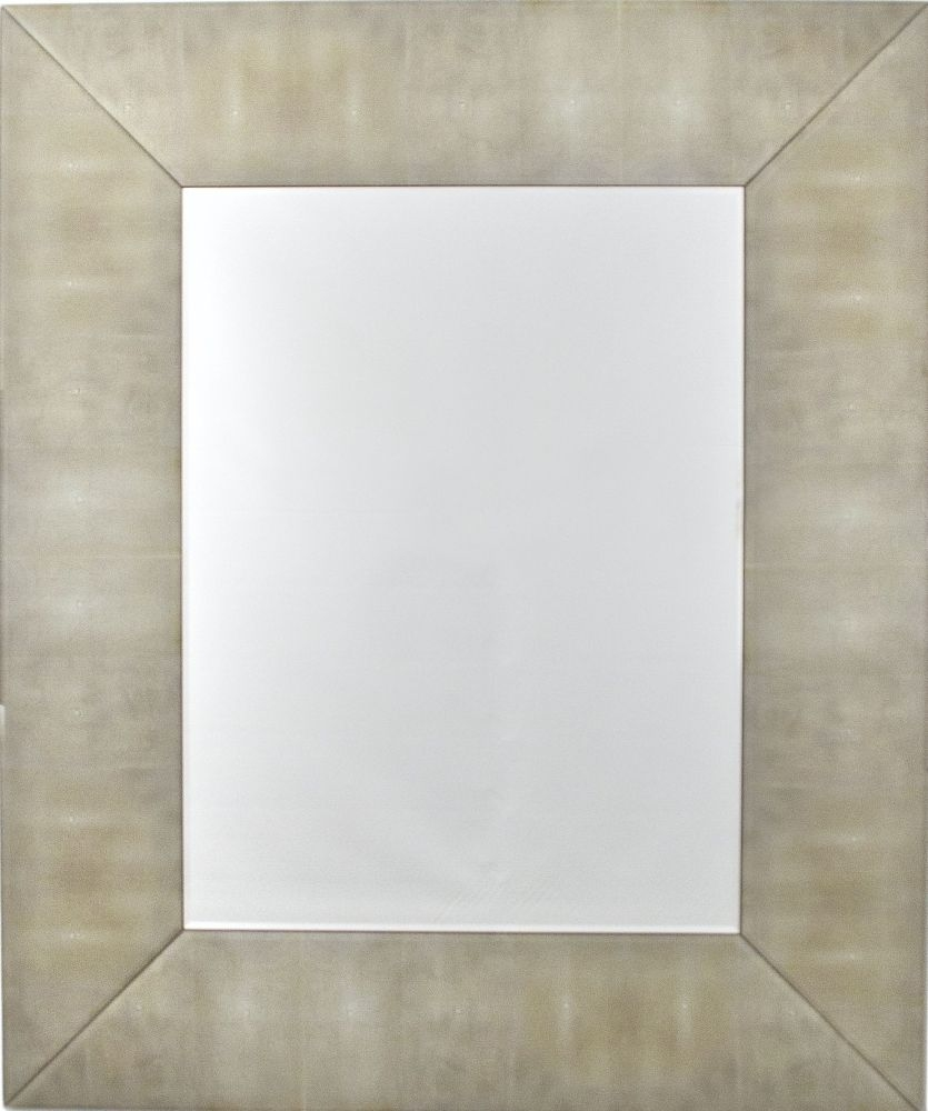 RV Astley Biscuit Shargreen Rectangular Mirror