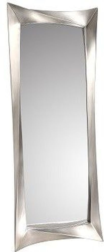 RV Astley Ceret Silver Leaf Rectangular Wall Mirror - 64.5cm x 168cm