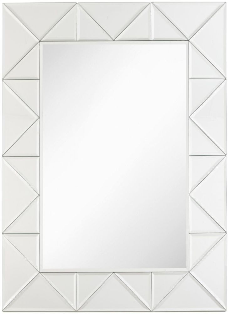 RV Astley Gairsay Wooden and Glass Rectangular Mirror