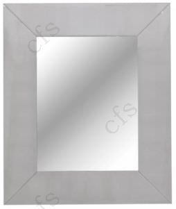 RV Astley Iced Ivory Shargreen Rectangular Wall Mirror