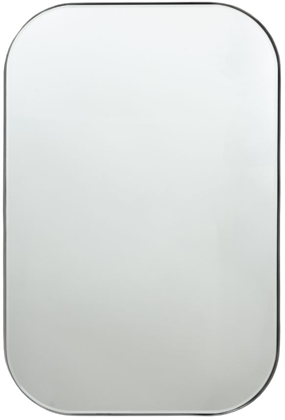 RV Astley Katell Pewter Rectangular Mirror - 60cm x 91cm