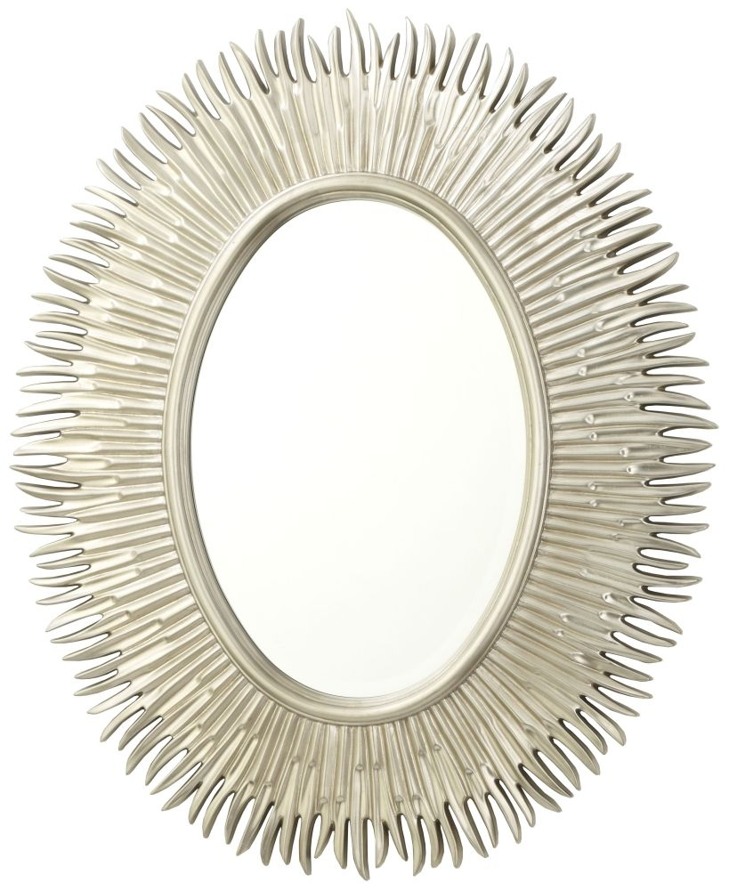 RV Astley Moher Champagne Oval Mirror - 79cm x 97cm