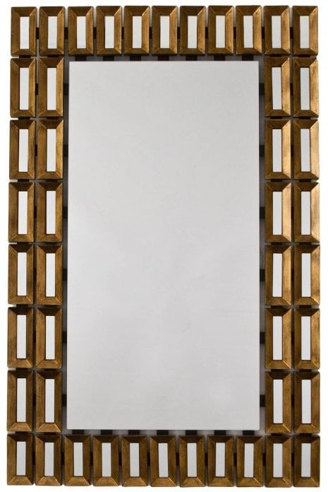RV Astley Tuscony Bronze Rectangular Mirror - 80cm x 122cm