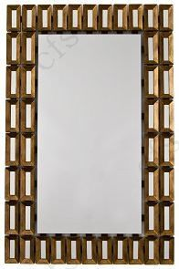 RV Astley Tuscony Bronze Rectangular Mirror