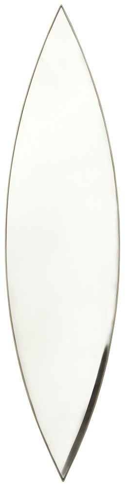 RV Astley Verona Brass Long Oval Mirror - 44cm x 180cm
