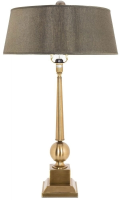 RV Astley Brushed Brass Table Lamp