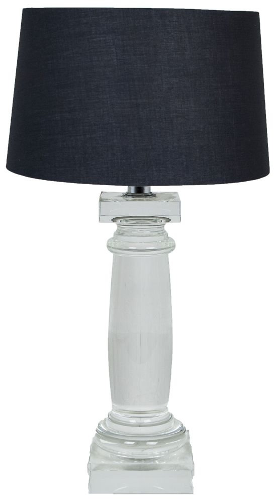 RV Astley Poeta Crystal Ballaster Lamp - BASE ONLY