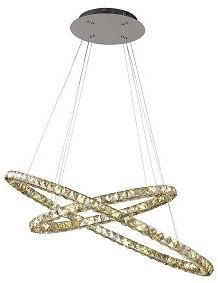 RV Astley Aila Cognac 2 Ring Pendent Light