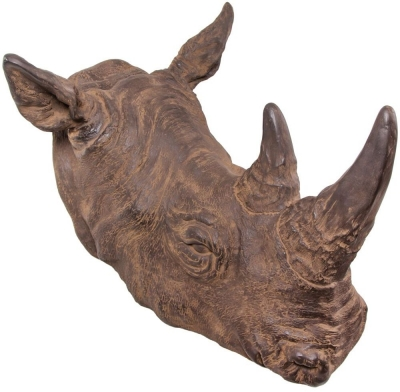 RV Astley Rhinohead - Resin Can Be Wall Mounted