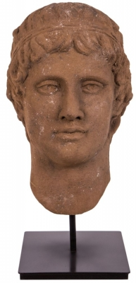 RV Astley Roman Head on Pinewood Stand