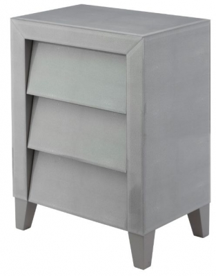 RV Astley Colby Soft Grey Shargreen Side Table