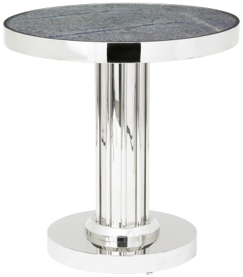 RV Astley Emila Satin Rose Side Table