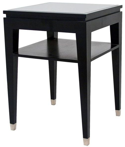 RV Astley Black Sofa Table