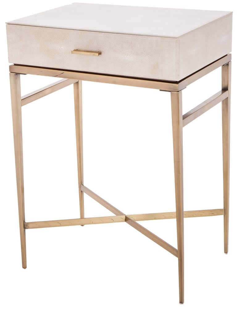 RV Astley Esta Side Table - 1 Drawer