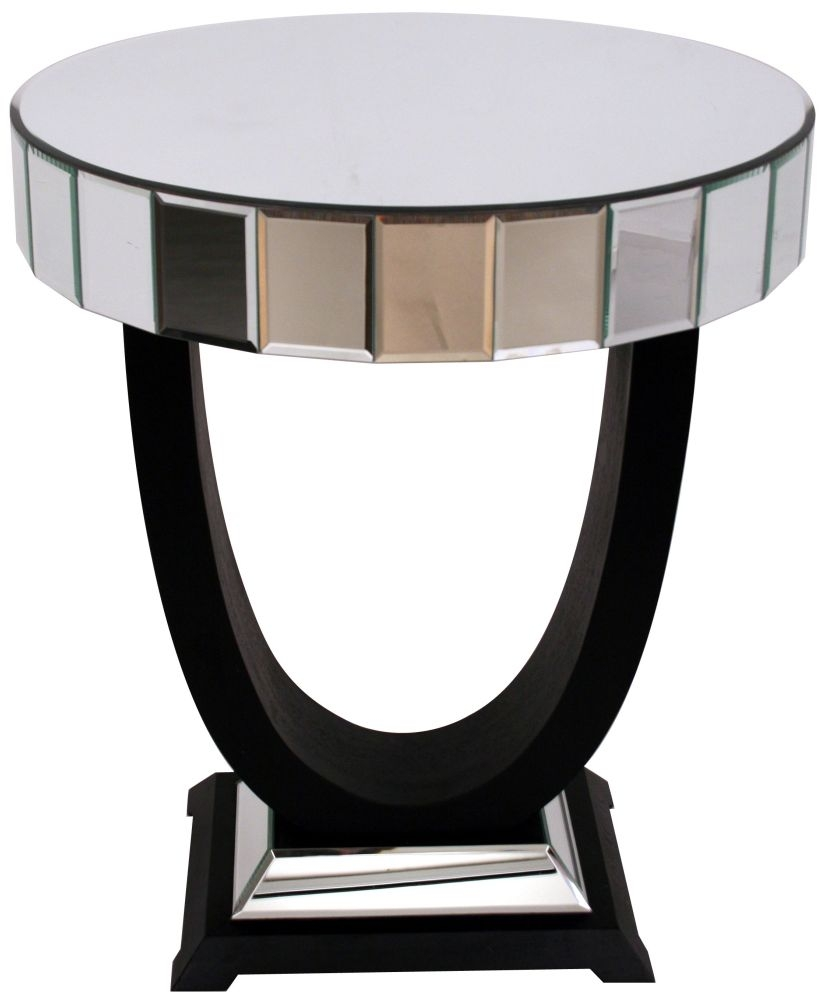 Side Table Rvs.Rv Astley Side Table Black And Mirrored